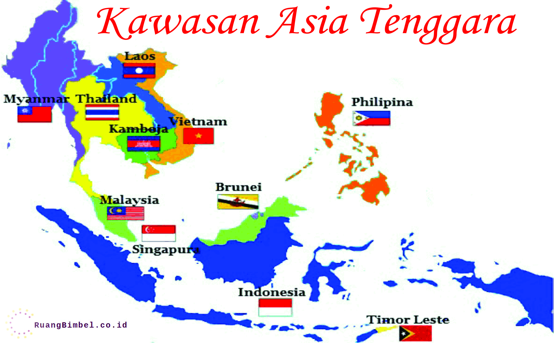Gambar Negara Asean Beserta Ibukotanya Kawasan Asia Tenggara Beserta Ibukota Ruangbimbel Co Id