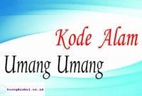 kode alam umang umang